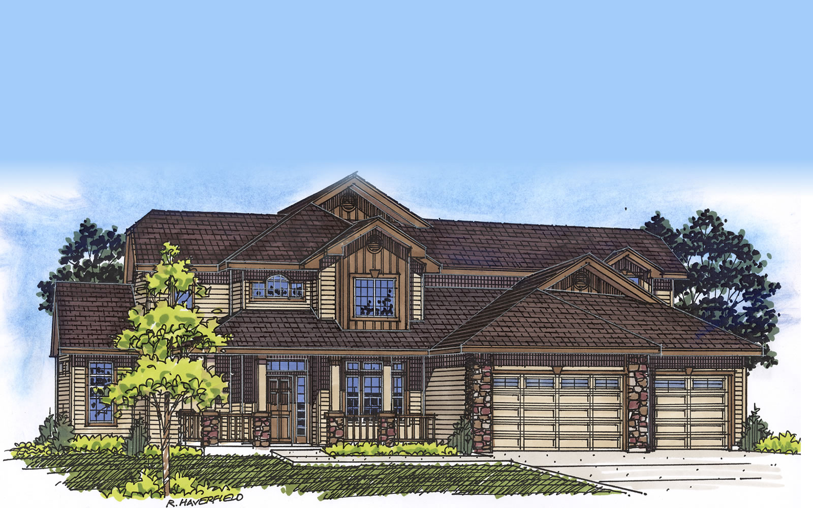 the tamarack floorplan by amyx signature homes amyx